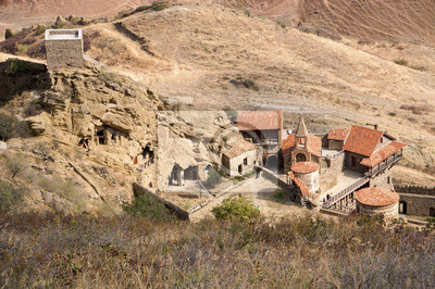 Gruzinski klasztor Dawid Garedża.