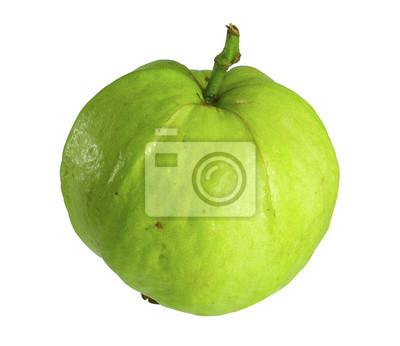 Guava / guawa samodzielnie na białym tle.