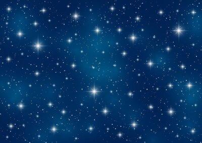 Obraz Gwiaździste niebo w tle dla projektu