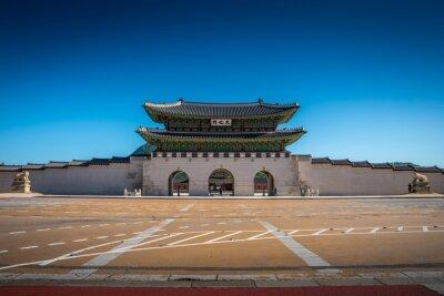 Gyeongbokgung Palace w Seulu, w Korei Południowej.