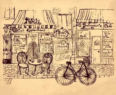 Obraz hand drawn illustration