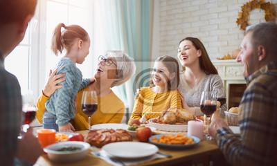 Obraz Happy Thanksgiving Day