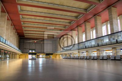 HDR - Abflughalle Tempelhof