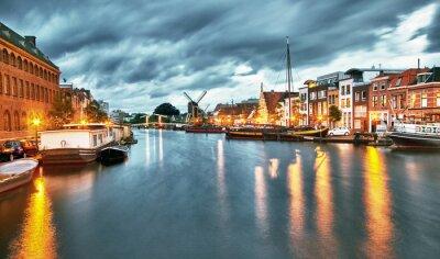 Obraz Hdr ... Leiden ... Holandia
