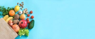 Obraz Healthy food background