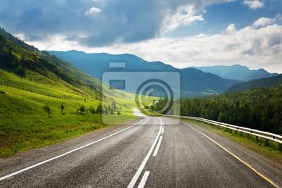 Obraz Highland Road