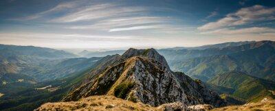 Obraz Hiking on Piatra Craiului mountain ridge