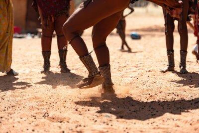 Obraz Himba women dancing at their village