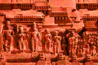 Obraz hinduskie bóstwa