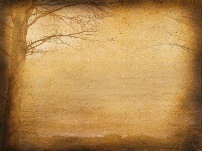 Obraz Hintergrund Bäume am Meer