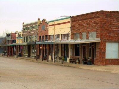 Obraz Historic Downtown - Texas