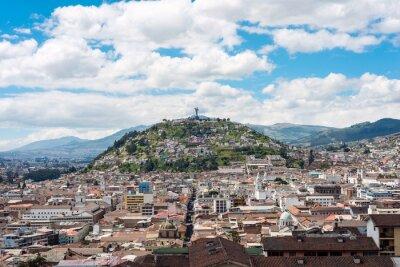 Obraz Historyczne centrum Starego Miasta Quito