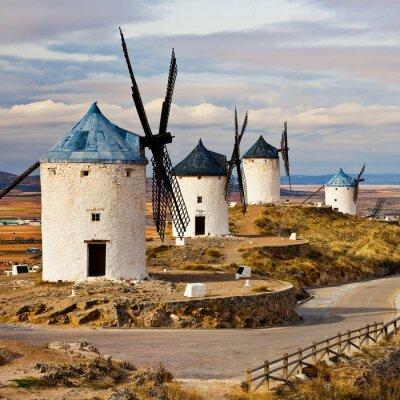 Obraz hiszpanski wiatraki