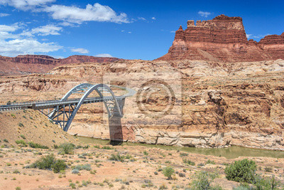 Hite Crossing Most przez rzekę Kolorado w Glen Canyon National Recreation Area