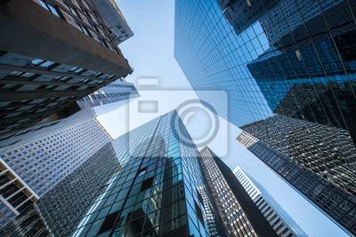 Obraz Hochhäuser und Büros w Nowym Jorku, USA