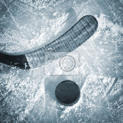 Obraz Hokej na kij i Puck
