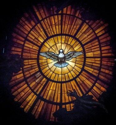 Obraz Holy spirit stained glass