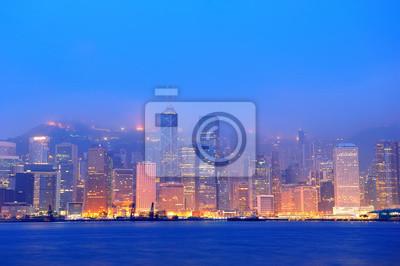 Hong Kong Victoria Harbor rano