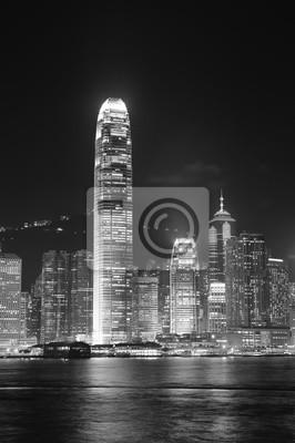 Hong Kong w czerni i bieli