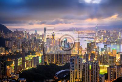 Obraz Hongkong Miasto