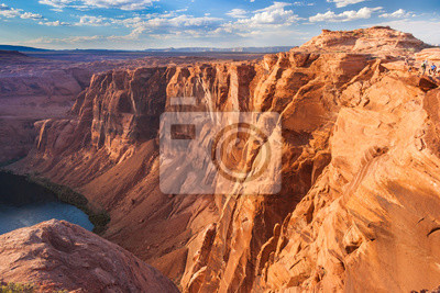 Horse Shoe Bend Colorado River, niedaleko strony, Arizona, USA