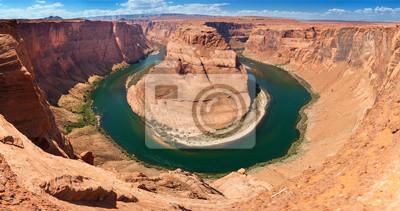 Horse Shoe Bend z rzeki Colorado