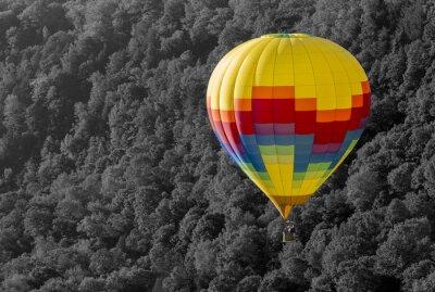 Obraz Hot Air Balloon w porannych