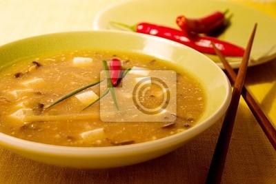 Obraz hot and sour soup chińskich