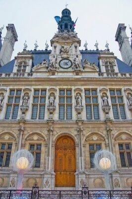 Hotel de Ville at Paris, France.