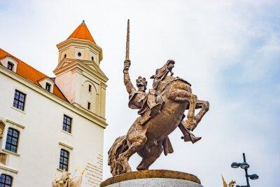Hrad Castle in Bratislava, Slovakia.