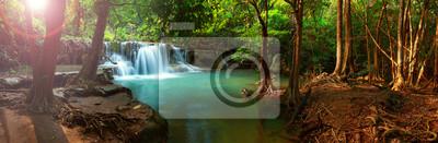 Obraz Huay Mae kamień Wodospad