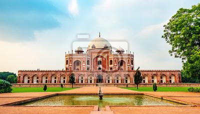 Obraz Humayuns Grób, popularne miejsce w Delhi