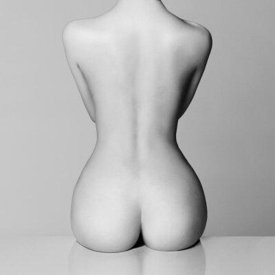 Obraz idealne kobiece ciało