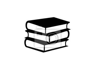Obraz Ikona książki edukacyjnej