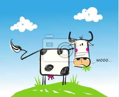 Ilustracja vache