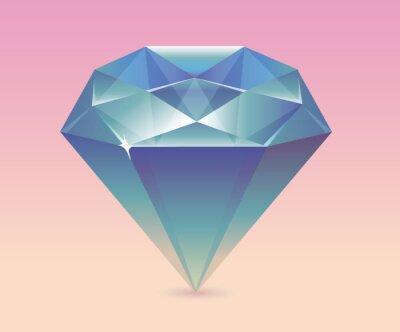 Ilustracja wektorowa diamentów.