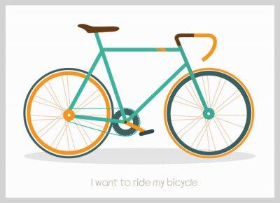 Ilustracja wektorowa rowerów