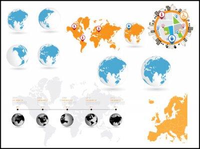 ilustracji wektorowych infografiki.