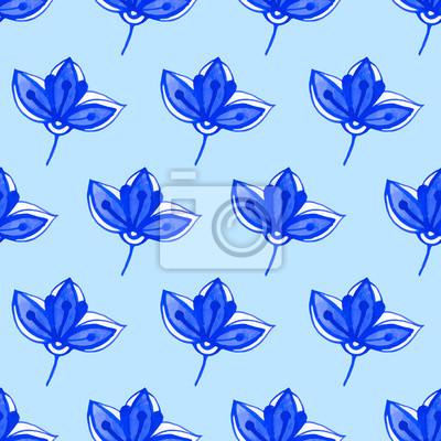Ilustracji wektorowych z oryginalnego kwiatu.