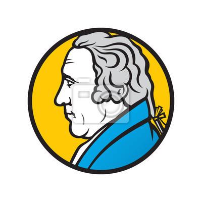 Obraz Inżynier i wynalazca James Watt