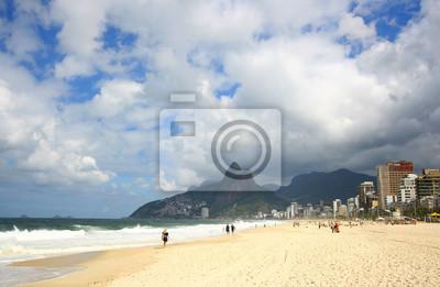 Ipanema Beach, Rio de Janeiro, Brazylia.