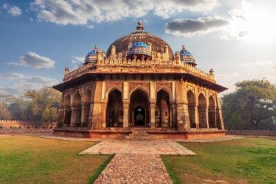 Obraz Isa Khan Tomb in the Humayun's complex in Delhi, India
