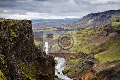 Islandia wulkaniczny krajobraz