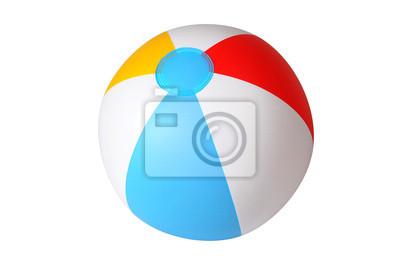 Obraz Izolowane piłka plażowa
