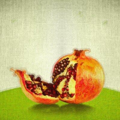 Obraz Jabłko w stylu sztuki
