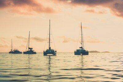 Obraz Jachty rekreacyjne na Oceanie Indyjskim