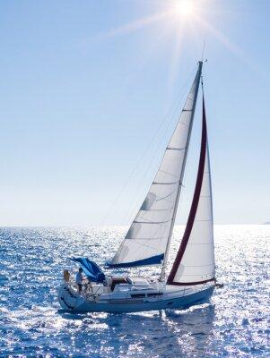 Obraz Jachty w Lefkada, Grecja