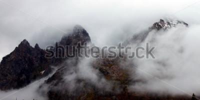 Obraz Jagged szczyty Teton Range w zachodniej Wyoming