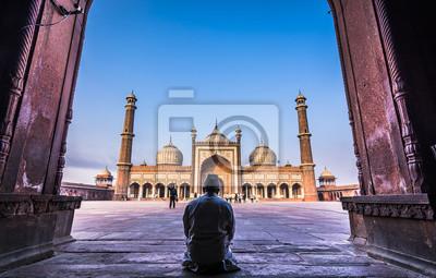 Obraz Jama Masjid - miejsce kultu