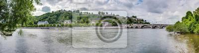 Obraz Jambes Most w Namur